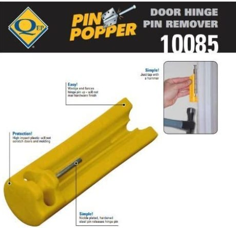 Door Hinge Pin Remover - Easily Removes Hinge Pin