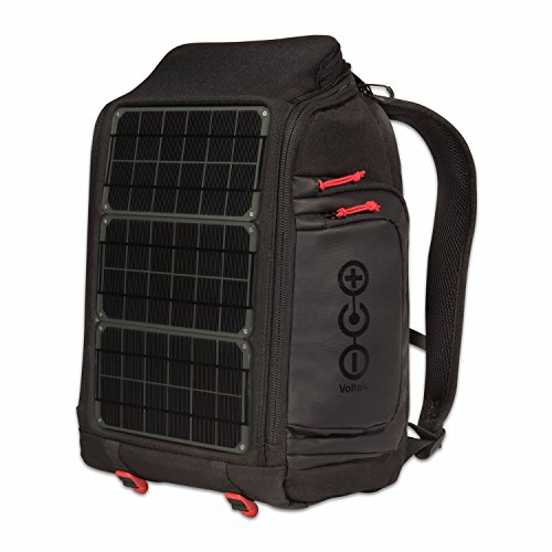 Voltaic Systems - Array USB Solar Backpack with Backup Battery Pack - Charcoal   Powers Laptops, Phones, & More   Solar Charge your Laptop Anywhere