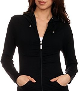 Lotus Lightweight 4-Way Stretch Hooded Active Yoga Fitness Zumba Jacket with Pokets Zip Up/One Size 10 Fashion Online Shop Gifts for her Gifts for him womens full figure
