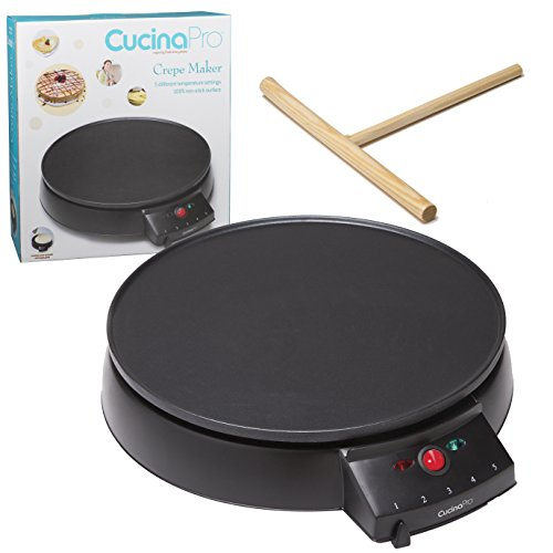 Crepe Maker and Non-Stick 12
