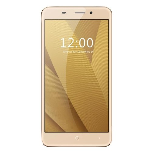 LEAGOO M5 Plus 16GB 5.5 Inch Freeme OS 6.0 Smartphone, MT6737 Quad Core 1.3GHz, 2GB RAM GSM & WCDMA & FDD-LTE (Gold)