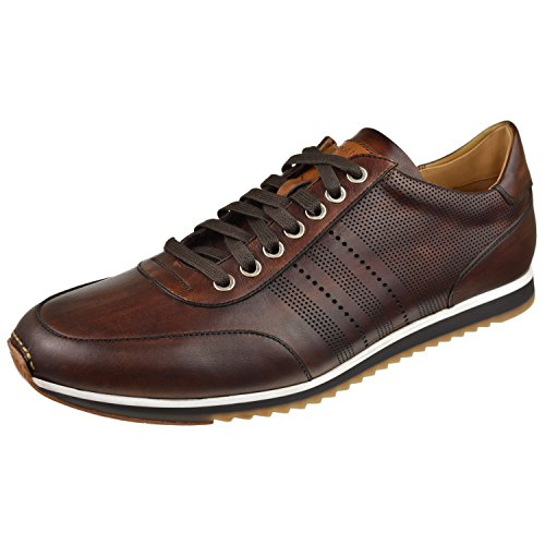 41CaoYXkpAL Hand-finished leather and suede uppers with perforated detailing Leather linings Removable leather footbeds