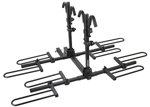 Venzo 4 Bike Bicycle Platform Style 2' Hitch Mount Car Rack Carrier