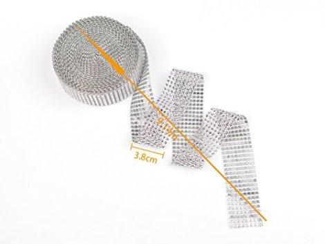 Nastri acrilico strass diamante per torte e decorazioni