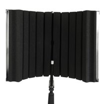 LyxPro-VRI-30-Sound-Absorbing-and-Vocal-Recording-Microphone-Isolation-Shield-Panel-For-Home-Office-and-Studio-Portable-Foldable-Stand-Mount-Adjustable