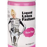 Ammonia-Free-Liquid-Latex-Body-Paint-32oz-Neon-Pink