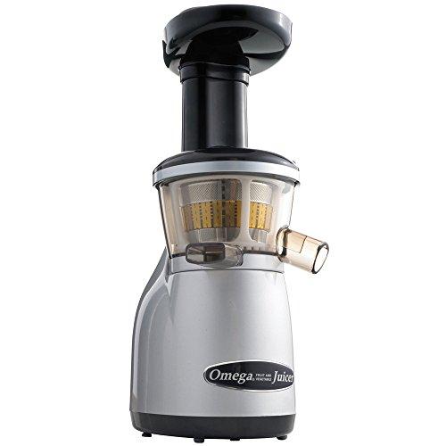 Omega VRT350 Juicer, 15-1/2 Inch, Silver