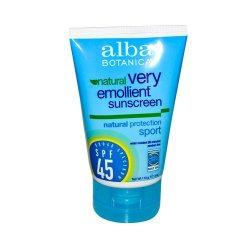 Alba Botanical Very Emollient Sunscreen SPF 45