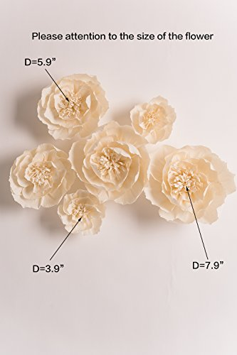 Paper Flower Decorations, Handcrafted Flowers, Giant Paper Flowers ...
