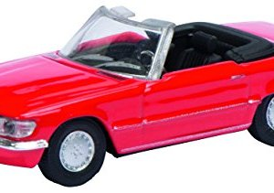 Schuco Models HO Mercedes 300 SL R107 Convertible/Red 41D2vgXM1hL