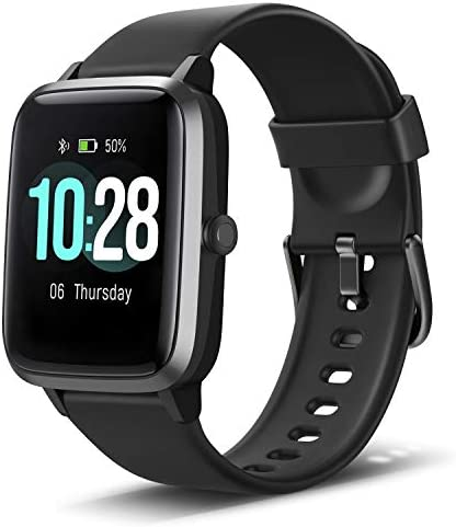 Anbes Health and Fitness Smartwatch with Heart Rate Monitor, Smart Watch for Home Fitness Tracking, Yoga, Exercise Bike, Treadmill Running, Compatible with iPhone and Android Phones for Women Men 3