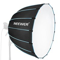 Neewer Hexadecagon Softbox 36 inches/90 Centimeters with Blue Rim and Bowens Mount, Portable and Quick Folding Softbox…