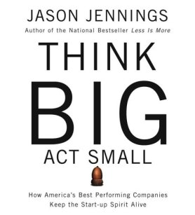 Image result for think big act small