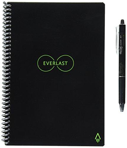 Rocketbook Everlast Reusable Smart Notebook, Executive Size