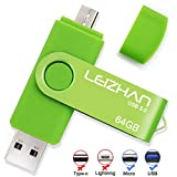 Phone Picture Stick 128GB, Micro-USB 3.0 Photostick for Samsung Galaxy S7/S6/S5/S4/S3/Note5/4/3/2/Meizu/HTC/Nokia/Moto/Huawei/Xiaomi,Green