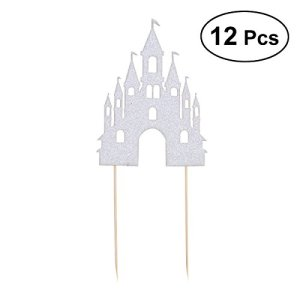12pezzi Castello Disney per torte