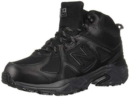 New Balance Men's 481 V3 Cushioning Trail Running Shoe, Black/Magnet, 11.5 D US