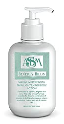 ASDM Beverly Hills Maximum Strength Skin Lightening Body Lotion