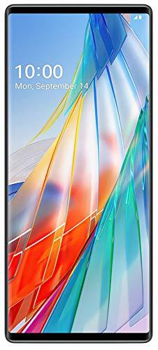 41DPHaH7AQL - LG Wing with Swivel Mode (Aurora Gray, 8GB RAM, 128GB Storage)