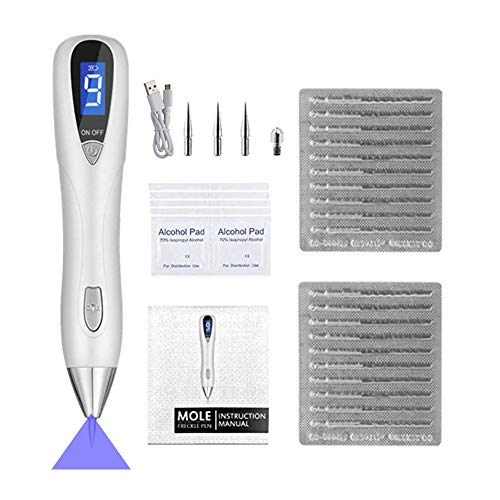 UPGRADE Electric Nevus Removal Pen9-Levels With UV Lamp USB Rechargeable (S4)