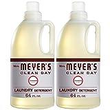 Mrs. Meyer's Laundry Detergent, Lavender, 64 fl oz (2 ct)