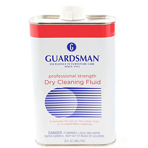 Guardsman Professional Strength Dry Cleaning Fluid Stain Remover Solution 32 Oz. (1)