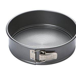 Circulon Momentum  Bakeware Carbon Steel 24 cm Non-Stick Spring Form  Cake Tin – Grey 41DfacKfBfL