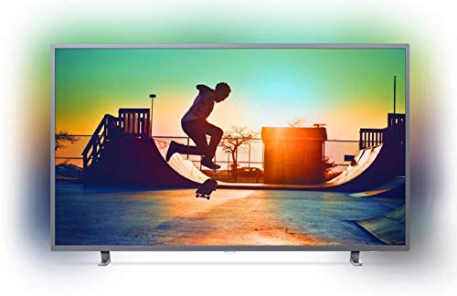 Philips 164 cm (65 inches) 6700 Series 4K Ambilight LED Smart TV 65PUT6703S/94 (Dark Sliver) 6