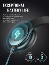 Tribit-QuietPlus-Active-Noise-Cancelling-Headphones-50-Bluetooth-Headphones-with-MIC-30-Hrs-Playtime-CVC80-Hi-Fi-Sound-Type-C-Foldable-Wireless-Headphones-Over-Ear-for-Airplane-Travel-Work-Black