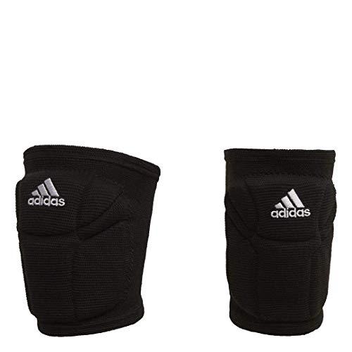 adidas womens Elite  Knee Pad, Black/White, Small