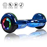 Felimoda 6.5 Inch Self Balancing Scooter Hoverboard UL2272 Certified Dual Motors w/Led Light Charger for Child...