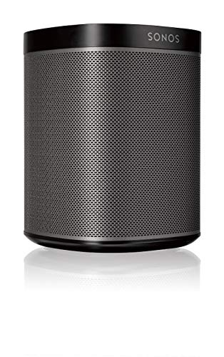 Sonos Play:1 Compact Wireless Speaker for Streaming Music. Compatible with Alexa. (Black) (Renewed)