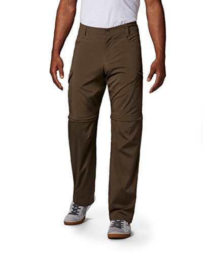 Columbia Men's Standard Silver Ridge Stretch Convertible Pant, Major, 34 x 30