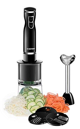 Chefman Electric Immersion Blender/Vegetable 4-in-1
