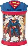 Superman Ceramic Metal Cookie Jar Canister
