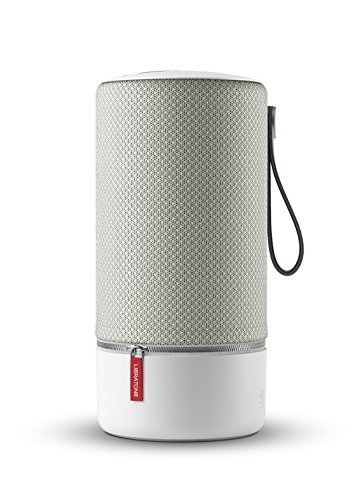 Libratone Zipp Mini Wifi Bluetooth Smart Speaker, 360° Loud Stereo Sound with Dual Mic Build-in, Deep Bass, 12 Hour Playtime, Airplay2 and Spotify connect, Work with Alexa(Cloudy Grey)
