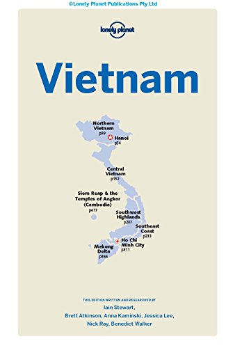 Lonely Planet Vietnam Travel Guide Just Leaving Footprints