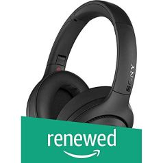 (Renewed) Sony WH-XB900N Wireless Noise Cancelation and Extra Bass Headphones with Alexa – Black