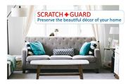 SCRATCHGUARD-Cat-Training-Tape-Clear-Adhesive-Double-Sided-Sticky-Guard-Protect-Furniture-Clear-4-Inches-x-30-Yards-Sticky-Tape-Largest-on-The-Market