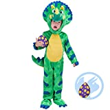Spooktacular Creations Triceratops Costume Small Green