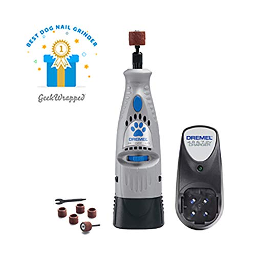 Dremel 7300-PT 4.8V Cordless Pet Dog Nail Grooming & Grinding Tool, Safely &...