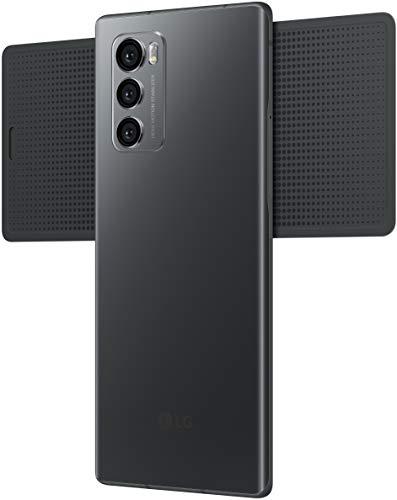 41EIMmIaulL - LG Wing with Swivel Mode (Aurora Gray, 8GB RAM, 128GB Storage)