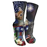 Lovely Kitties Crew Socks Cotton Moisture Wicking Sport Fitness Travel Athletic Running Printed Casual