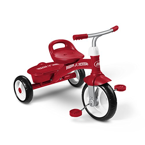 Radio Flyer 421Z Rider Trike, Red (Amazon Exclusive)