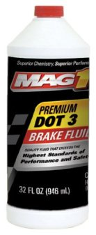 MAG1 120 Premium DOT 3 Brake Fluid - 32 oz.