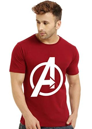 Dark Avengers End Game Graphics Cotton T-Shirt for Men || Half Sleeve