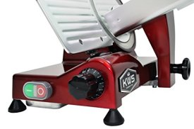 KWS-MS-10XT-Premium-Commercial-320W-Electric-Meat-Slicer-10-Inch-in-Red-with-Non-sticky-Teflon-Blade-Frozen-MeatDeli-MeatCheeseFood-Slicer-Low-Noises-Commercial-and-Home-Use