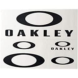 Oakley Unisex-Adult Oakley Sticker Pack Large Replacement Lenses, Black, 0 mm