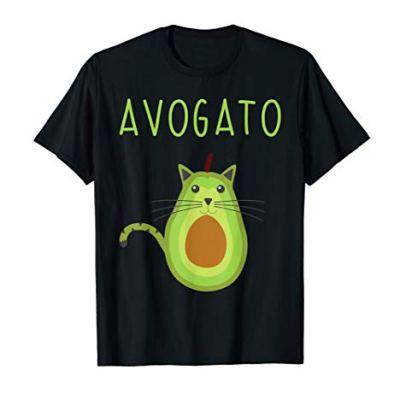 Avogato Cinco De Mayo Gift Cinco De Meow Cat Avocado T-Shirt