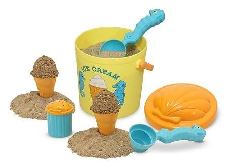 Melissa & Doug Sunny Patch Speck Seahorse Sand Ice Cream
